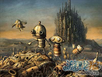 奇幻风格解谜佳作:机械迷城 虚幻世界中的小故事1