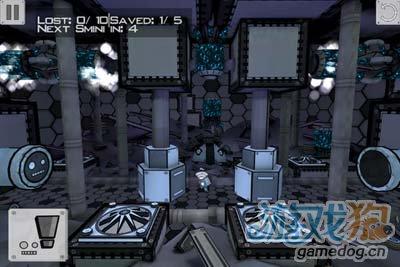iOS益智游戏:史密纳斯 满布铁锈与火花的逃亡之路3