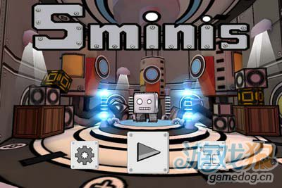 iOS益智游戏:史密纳斯 满布铁锈与火花的逃亡之路1
