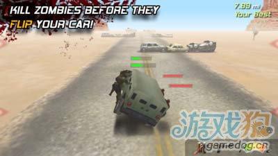 僵尸题材游戏:僵尸高速公路 逃亡在荒凉的高速路上2