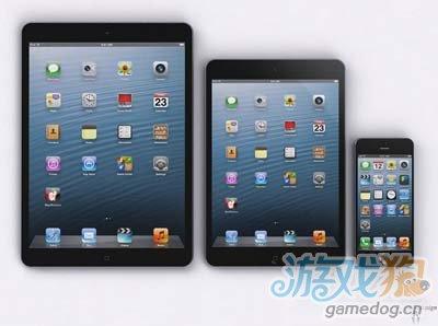 ipad5,ipadmini,iphone5照片对比
