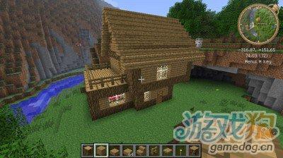 我的世界房子图片_我的世界房子设计图记住要图