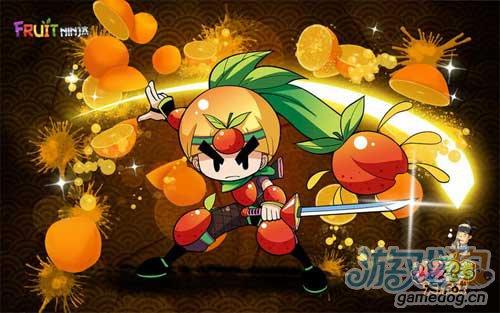 超可爱的水果忍者拟人化动漫形象