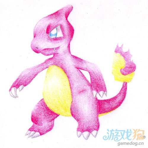 恐龙步骤筒笔画