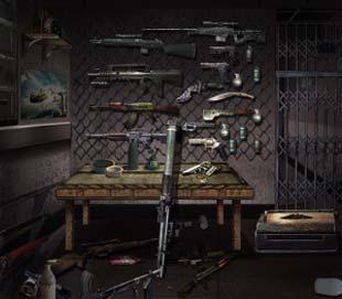 末日公寓武器室里箱子打开技巧分析