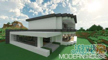 我的世界现代建筑系列之别墅存档下载(2)