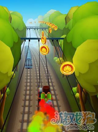 地鐵跑酷萬聖節版遊戲截