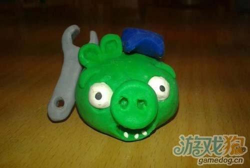 幼儿园橡皮泥手工作品《帽子》;