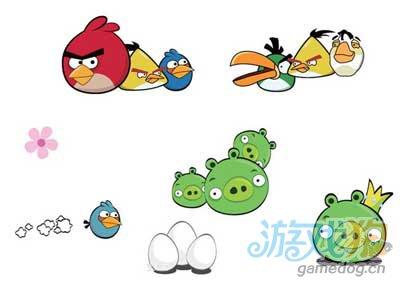 愤怒的小鸟是一款很受欢迎