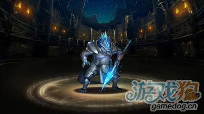 神魔之塔冰谷蜥蝪騎士圖