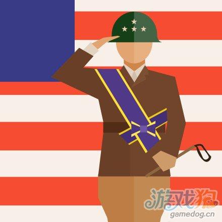疯狂猜图美国国旗下士兵敬礼4个字电影电视答案