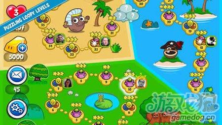 Facebook爆红弹珠游戏:Papa Pear Saga将登安卓平台2