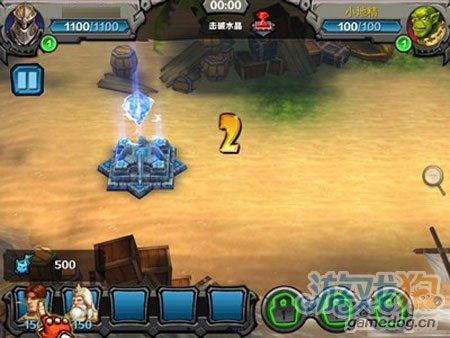 3D竞技塔防:为了部落游戏封测评测3