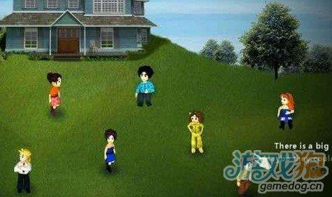 虚拟家庭人物生病图片