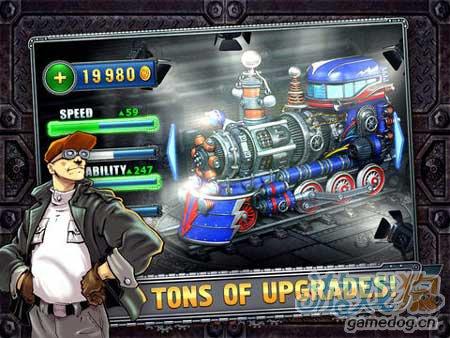 競速遊戲大作 火車競賽iPad版試玩評測4