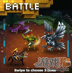 DeNA精品像素RPG游戏:特克塞尔将推中文版1