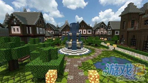 中世纪城堡设计图_我的世界城堡设计图