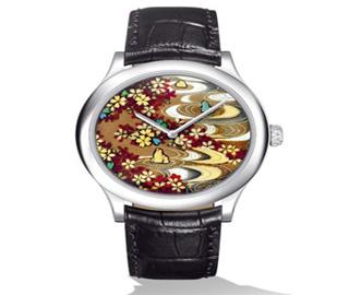 莳绘腕表为你描绘日本风情画