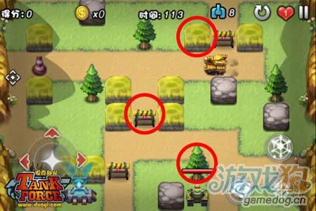 休闲射击类游戏 坦克部队上演丛林大战1