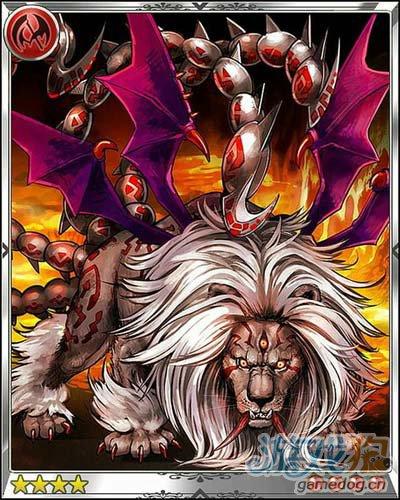 巴哈姆特之怒蝎狮曼提柯尔卡片背景介绍漫画吧肉图片