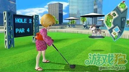 Gameloft将移植Let\'s Golf成为Line Game1