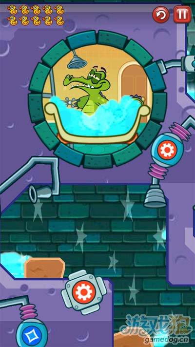 鳄鱼小顽皮爱洗澡神秘鸭8-6吸掉3