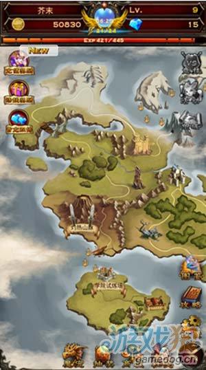 冒险手机游戏:龙神战记最新玩法介绍2