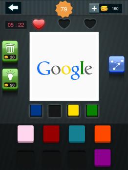疯狂猜图周末也疯狂四种颜色答案google1