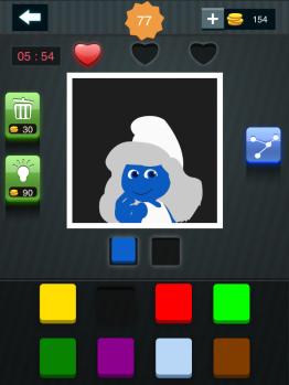 疯狂猜图周末也疯狂两种颜色答案蓝妹妹1
