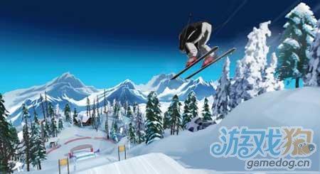 3D竞速类游戏:滑雪追逐赛年底登安卓3