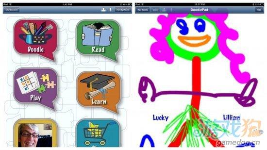 为和家人联系 祖父母开发iPad应用1