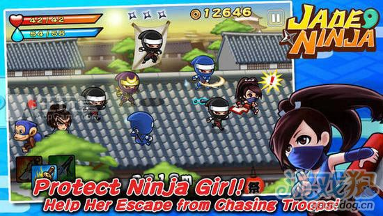 和风街机游戏:勾玉忍者中文版即将上线1
