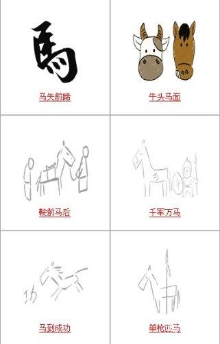疯狂猜成语中所有和马有关的成语关卡答案