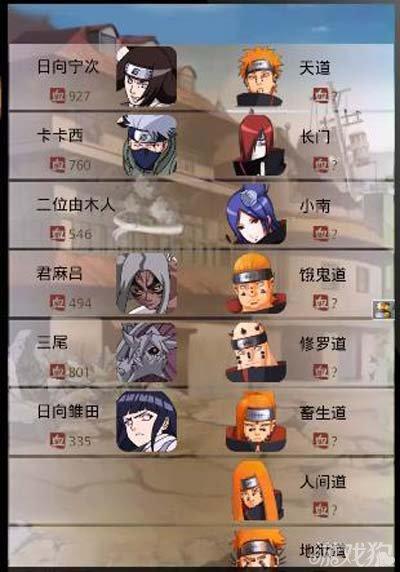 口袋忍者历练战斗角色分配攻略2