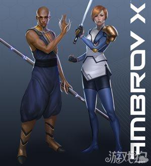 Ambrov X已开始募资 3D科幻RPG大作1
