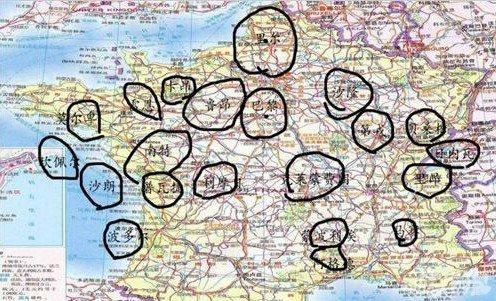 口袋妖怪xy地图之卡洛斯分析6图片
