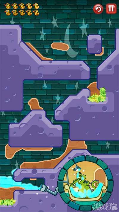 鳄鱼小顽皮爱洗澡神秘鸭10-7墙上的污点1