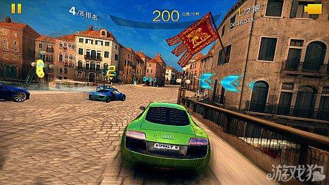 狂野飙车8威尼斯最佳赛道攻略3