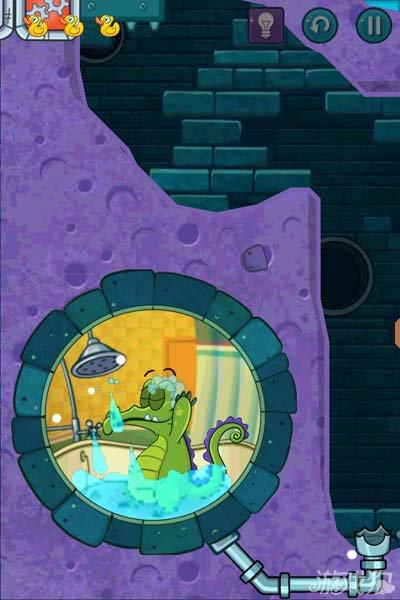 鳄鱼小顽皮爱洗澡2地下道5攻略6