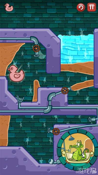 鳄鱼小顽皮爱洗澡神秘鸭10-10泥墙3