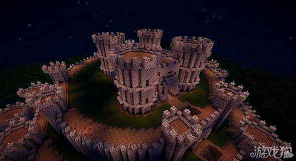 我的世界山顶城堡_游戏狗我的世界专区