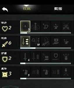 无尽之剑3属性细解及加点推荐1