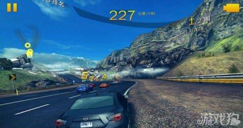 狂野飙车8冰岛赛道攻略分享3