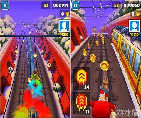 地鐵跑酷聖誕版遊戲優缺點分析3