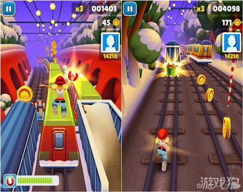 地鐵跑酷聖誕版遊戲優缺點分析5