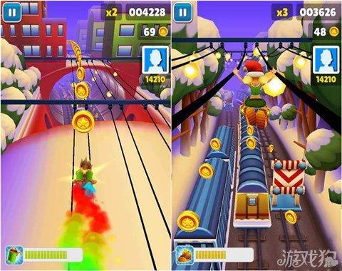 地鐵跑酷聖誕版遊戲優缺點分析4