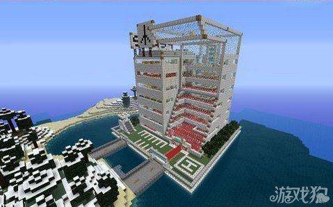 我的世界建筑物之和平假日酒店_游戏狗我的世