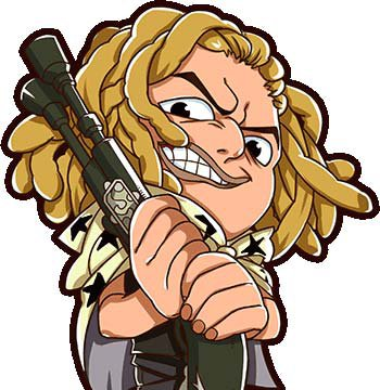 梦想海贼王耶稣布是红发海贼团的狙击手,乌索普的父亲.