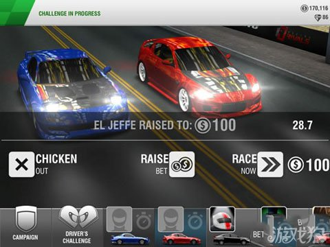Racing Rivals即将登陆安卓 竞速大作来袭3