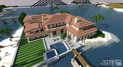 我的世界海岛别墅度假圣地